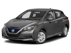 New 2021 Nissan LEAF S PLUS Hatchback 1N4BZ1BV9MC553253 For Sale in South Burlington