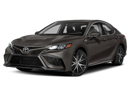 Featured new 2021 Toyota Camry SE Sedan for sale in Marion, IL