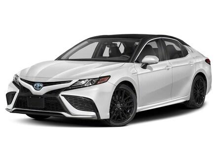 Featured New 2021 Toyota Camry Hybrid XSE Sedan for sale in Corona, CA