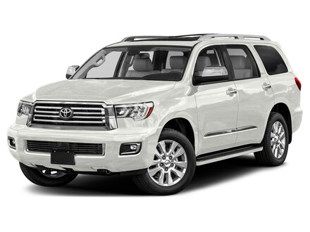 Featured New 2021 Toyota Sequoia Platinum SUV for sale in Colorado Springs, CO