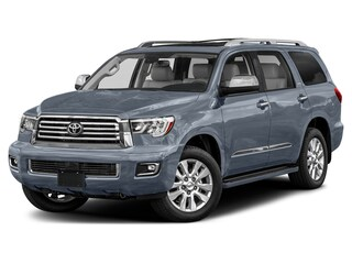 New 2021 Toyota Sequoia Platinum SUV in Enid, OK