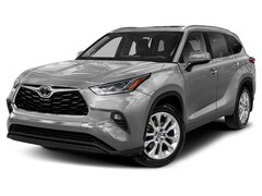 New 2021 Toyota Highlander Limited AWD - 2nd Row Captains & Tow Hitch SUV T7145 Plover, WI