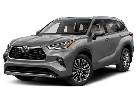 Featured 2021 Toyota Highlander Platinum SUV for sale near you in Wellesley, MA