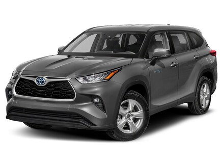 Featured 2021 Toyota Highlander Hybrid XLE SUV for sale near you in Wellesley, MA