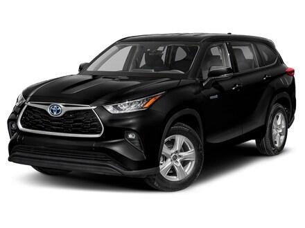 New 2021 Toyota Highlander Hybrid XLE SUV for Sale or Lease in Englewood Cliffs, NJ