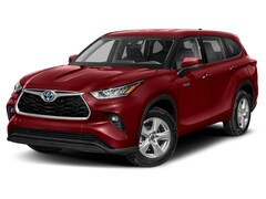 New 2021 Toyota Highlander Hybrid XLE AWD - 2nd Row Bench & Tow Hitch SUV T7345 Plover, WI