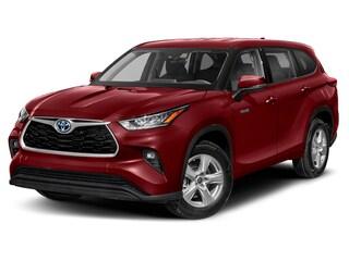 New 2021 Toyota Highlander Hybrid Hybrid XLE SUV 210279 for sale in Thorndale, PA