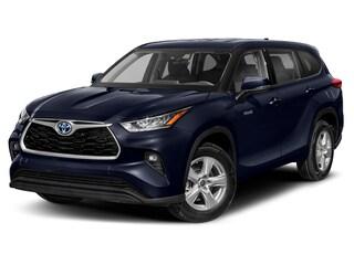 New 2021 Toyota Highlander Hybrid XLE SUV Missoula, MT