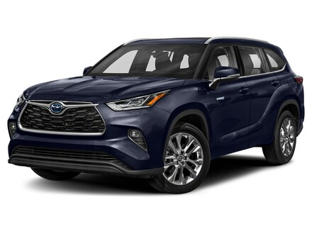 Featured New 2021 Toyota Highlander Hybrid Limited SUV for sale near you in Peoria, AZ