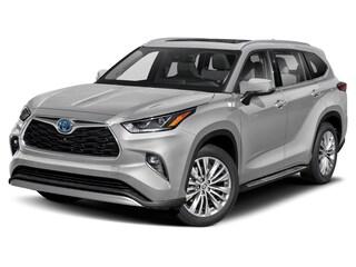 New 2021 Toyota Highlander Hybrid Platinum SUV Missoula, MT