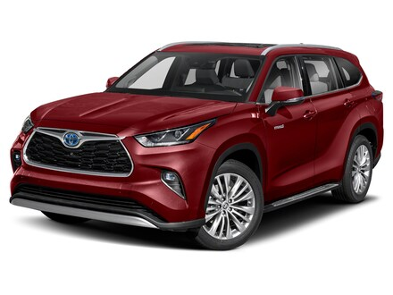 Featured New 2021 Toyota Highlander Hybrid Platinum SUV for sale in Colorado Springs, CO