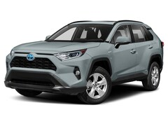 2021 Toyota RAV4 Hybrid Hybrid XLE Premium AWD SUV for sale at Young Toyota Scion in Logan, UT