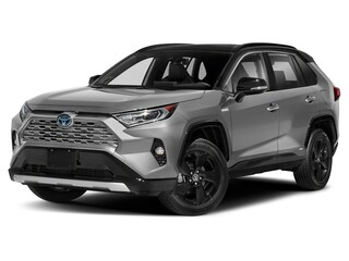 New 2021 Toyota RAV4 Hybrid XSE SUV for sale in Charlotte, NC