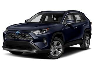 New 2021 Toyota RAV4 Hybrid Limited SUV Springfield, OR