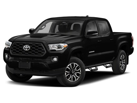 Featured new 2021 Toyota Tacoma TRD Sport V6 Truck Double Cab for sale in Marion, IL