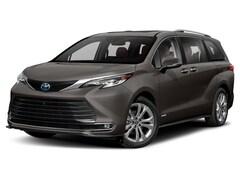 New 2021 Toyota Sienna Platinum 7 Passenger Van