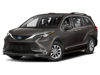 New 2021 Toyota Sienna Hybrid XLE AWD 7 Passenger w/ Roof Rails and Hitch Van in Portsmouth, NH