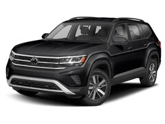 New 2021 Volkswagen Atlas 2.0T SE w/Technology SUV for Sale in Greenville, NC, at Joe Pecheles Volkswagen