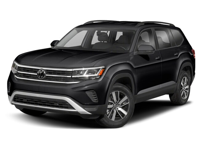 New 2021 Volkswagen Atlas 3.6L V6 SE w/Technology R-Line SUV in Macon, GA