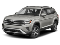 new 2021 Volkswagen Atlas 3.6L V6 SE w/Technology R-Line SUV for sale near Bluffton
