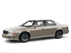 2000 Cadillac Deville 4dr Sdn Car