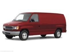 2000 Ford E-150 Commercial Van Cargo Van