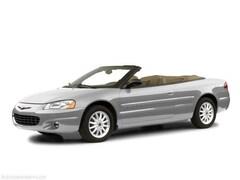 2001 Chrysler Sebring LXi Convertible