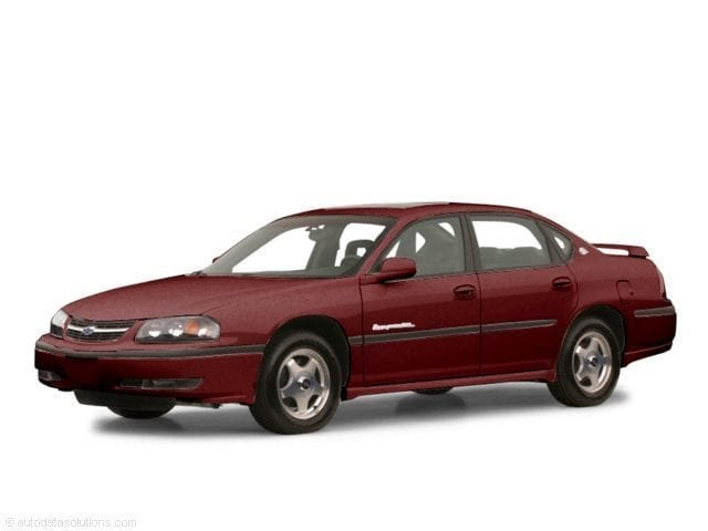 2001 Chevrolet Impala LS Sedan