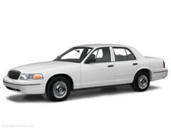 2001 Ford Crown Victoria Police Interceptor Sedan