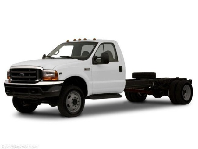 2001 Ford Super Duty F-350 DRW XL Regular Cab Chassis-Cab