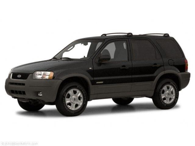 2001 Ford Escape XLS Sport Utility