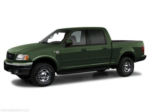 2001 Ford F-150 Crew Cab Short Bed Truck
