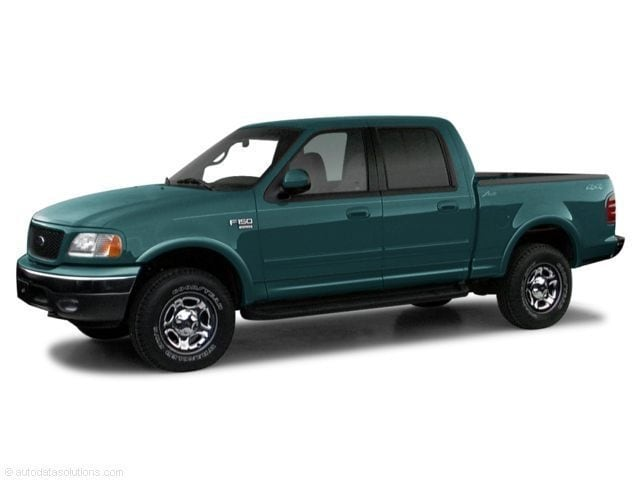 2001 Ford F-150 SuperCrew Truck SuperCrew Cab
