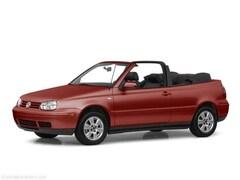 2001 Volkswagen Cabrio GLS Convertible