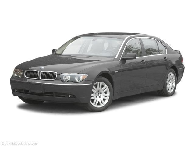 2002 BMW 7 Series Sedan