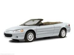 2002 Chrysler Sebring Limited Convertible 1C3EL65R22N269313 for sale in Waite Park near St. Cloud, MN