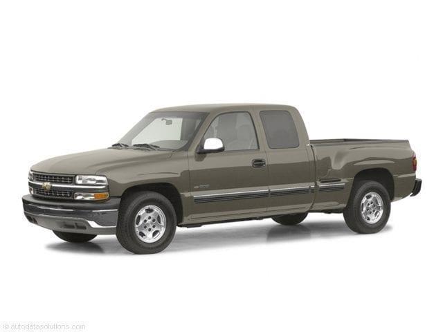 2002 Chevrolet Silverado 1500 LS  4x4   Extend cab Truck