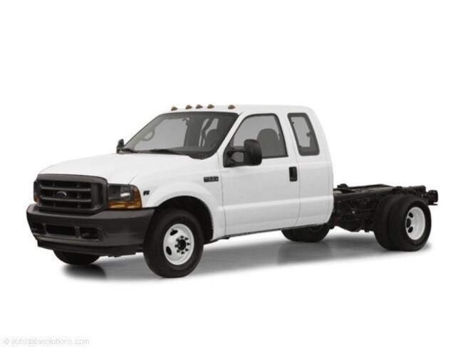 2002 Ford F-350 Chassis Cab Chassis Truck