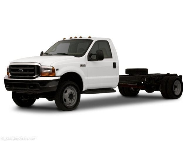 2002 Ford F-450 Chassis Cab Chassis Truck