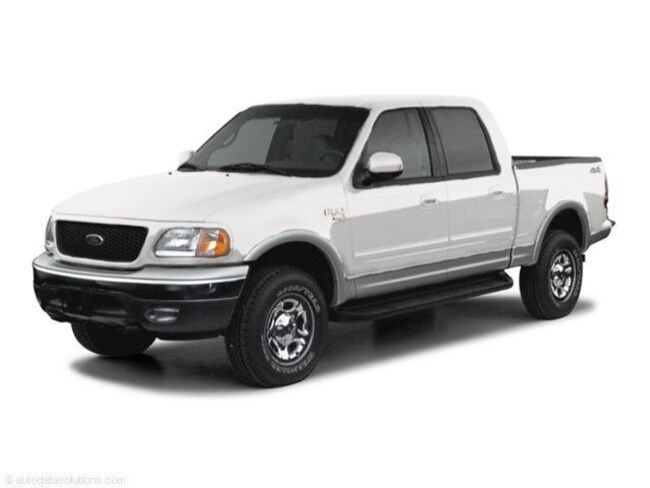 2002 Ford F-150 XLT Crew Cab Short Bed Truck