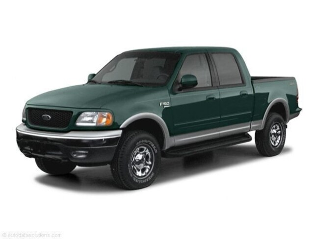 2002 Ford F-150 Crew Cab Short Bed Truck