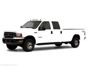 2002 Ford Super Duty F-250 Crew Cab 172 XLT Crew Cab Pickup
