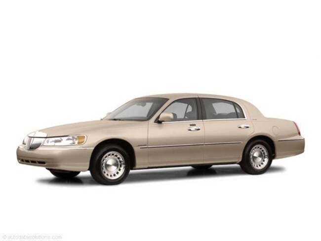 Used 2002 Lincoln Town Car For Sale At Ogden Lincoln Of Westmont
