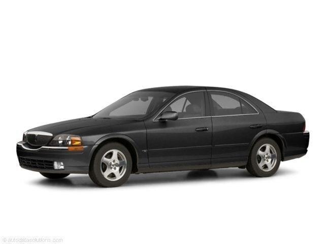 2002 Lincoln LS BA Sedan