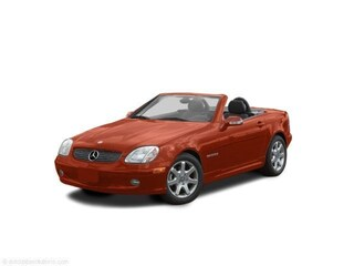 2002 Mercedes-Benz SLK-Class Kompressor Coupe