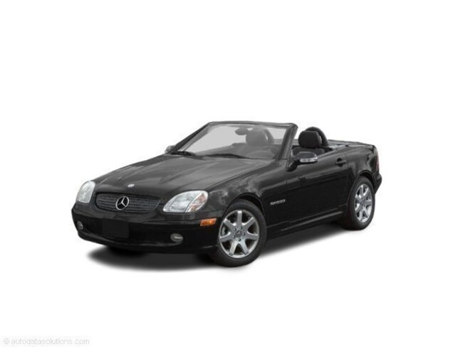 Used 2002 Mercedes-Benz SLK SLK 320 Convertible for sale in Chico, CA