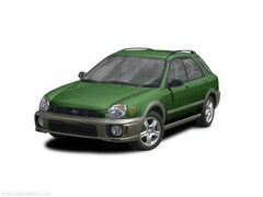 2002 Subaru Impreza Wagon Outback Sport Wagon