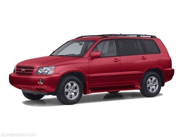 2002 Toyota Highlander Limited SUV