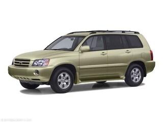 Used 2002 Toyota Highlander V6 SUV for Sale in Grand Rapids
