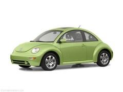 Bargain Pre-Owned 2002 Volkswagen New Beetle GLS TDI Hatchback for Sale in Johnstown, PA